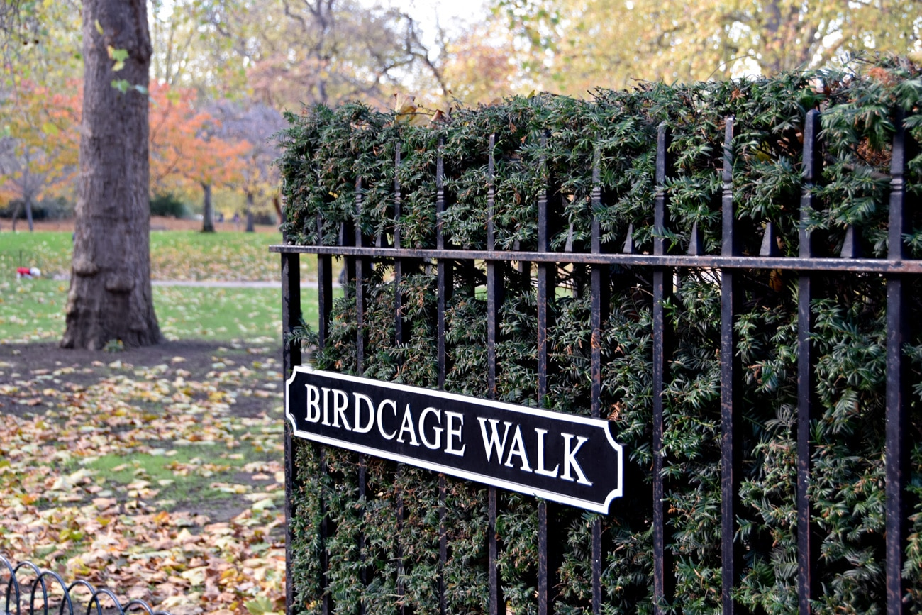 Birdcage Walk, Saint James Park, United Kingdom